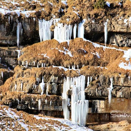 The village of frozen waterfalls - Kriz