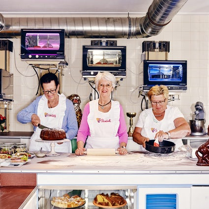 Full service like at grandma's: Vollpension Café in Vienna