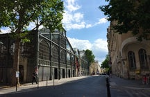 Remarkable buildings in Paris: Carreau du Temple
