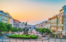 Explore Prague's New town
