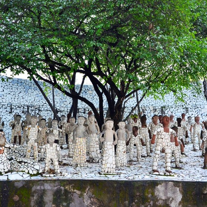 Trip to the Rock Garden, an environmental marvel of Chandigarh