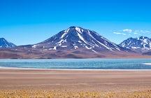 Lagoons in the desert; Atacama's hidden gems