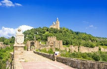 The millennia-old fairytale hill of Tsarevets in Veliko Tarnovo