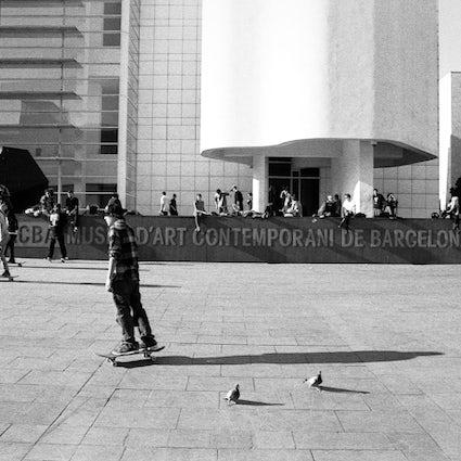 Aperçu de la scène du skateboard à Barcelone