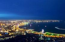 Breathtaking architecture of modern Baku