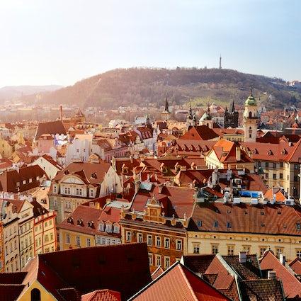 La ciudad vieja de Praga