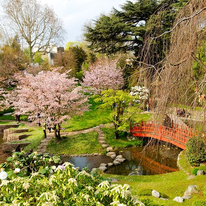 Parks and gardens in Paris: Albert Kahn