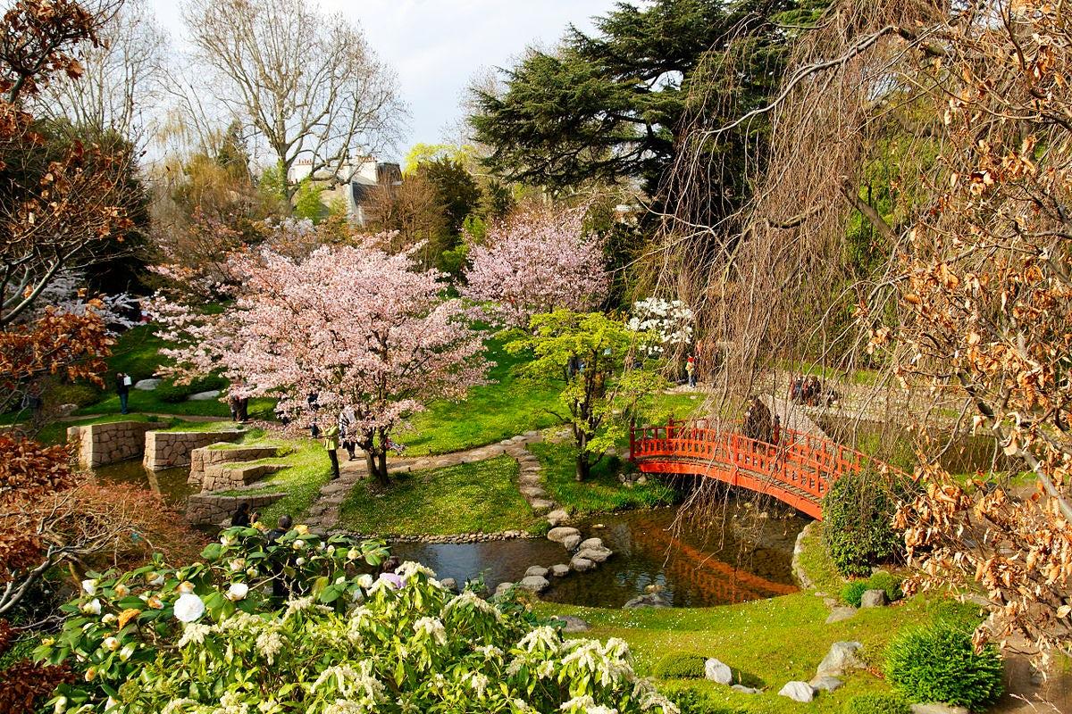 Parks and gardens in Paris: Albert Kahn