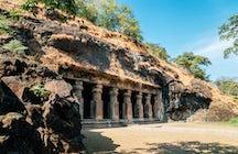 Elephanta Caves in Mumbai, een rustige eilandervaring