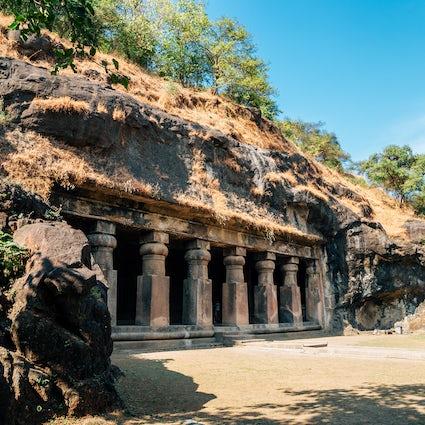 Elephanta-Höhlen in Mumbai, eine ruhige Inselerfahrung