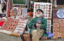 Arbat Moldavo - Mercado de recuerdos de Chişinău