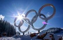 En souvenir des Jeux Olympiques d'hiver de Sarajevo 1984