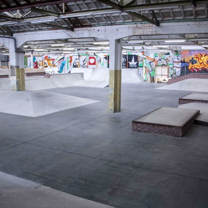 Waalhalla, an indoor skatepark and electronic music venue