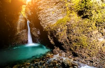 A timeless beauty of Kozjak Waterfalls