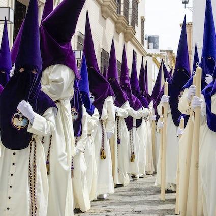 Pasen in Sevilla, de processies
