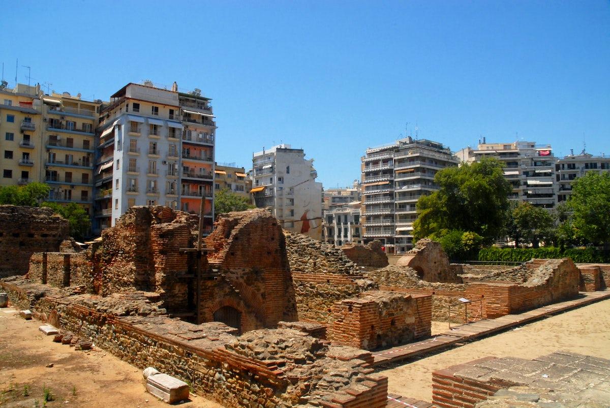 The story behind Thessaloniki's Landmarks; Navarinou Square