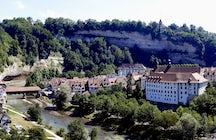 As Terras Médias Suíças: Uma viagem diária a Fribourg e Murten