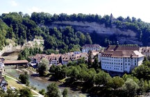 The Swiss Midlands: A daily trip to Fribourg and Murten