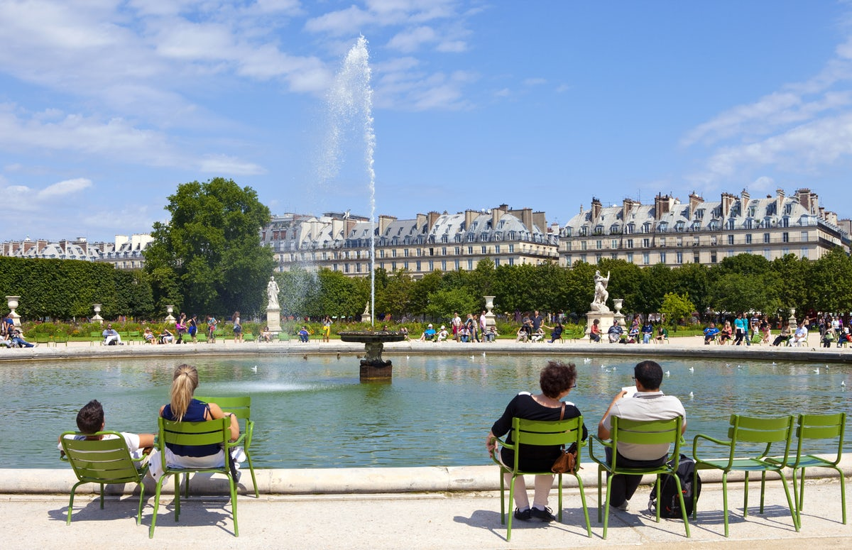 Parks and gardens in Paris: Jardin des Tuileries