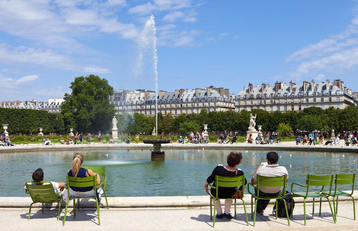Parks und Gärten in Paris: Jardin des Tuileries
