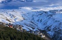 Sierra Nevada, ein Schneeparadies in Südspanien.