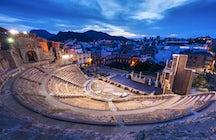 La vertiente romana de Cartagena, Murcia