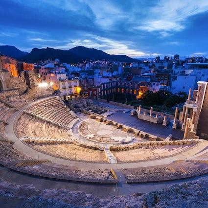 De Romeinse kant van Cartagena, Murcia