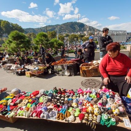 Tbilisoba, eine Feier zur Feier der 1500-jährigen Geschichte der Stadt.
