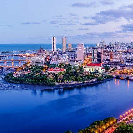 A historical boat trip under the bridges of Recife