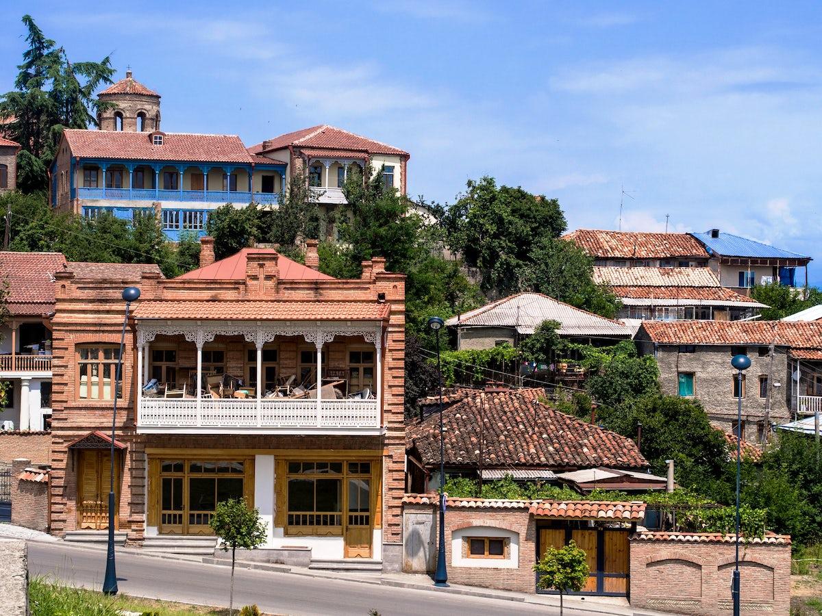 Telavi City - a heart of the Kakheti Region