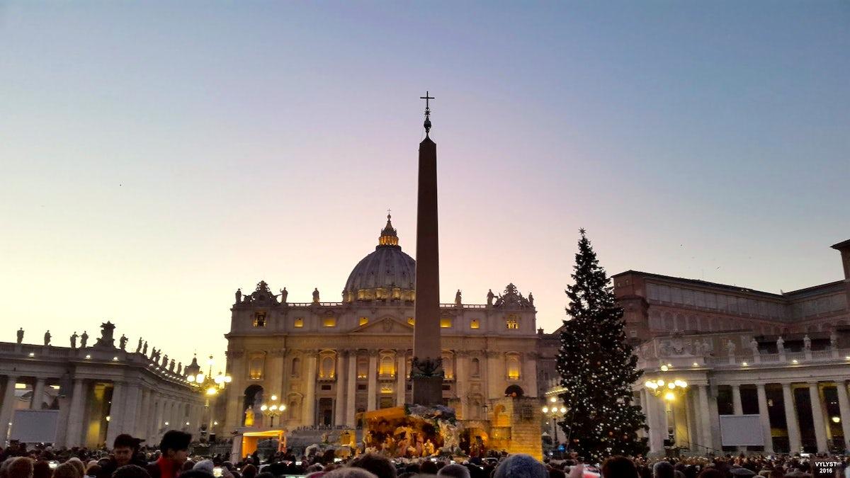 Vatican Christmas Tree Lighting