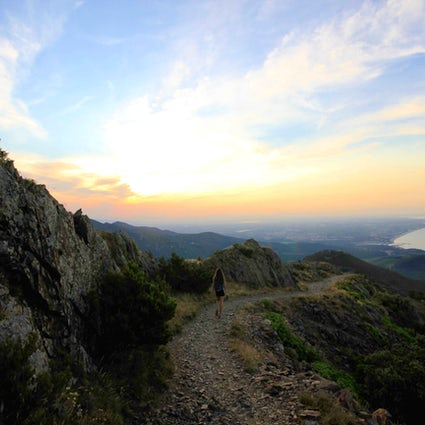 Sunset hike in the Pyrenees - Tour de Madeloc
