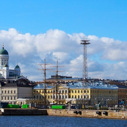 A walk through Helsinki's city center