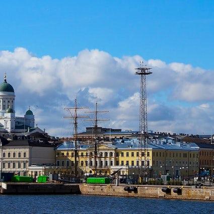 Een wandeling door het stadscentrum van Helsinki