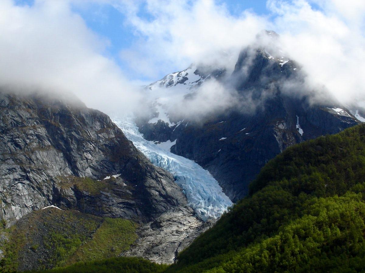 Folgefonna glacier - Norwegian landmark on ice!