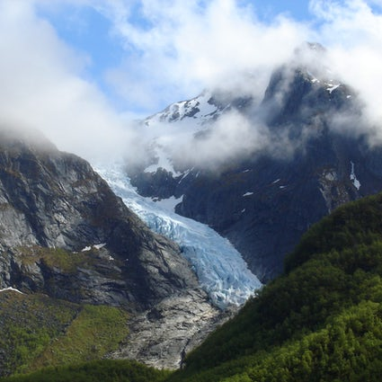 Folgefonna glacier - Norwegian landmark on ice!