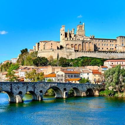 Die schönen Balkone von Béziers