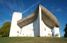 Notre-Dame-du-Haut, the magnificent concrete chapel in Ronchamp