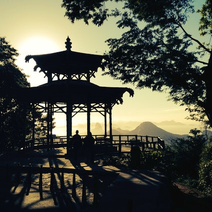 The Chinese Belvedere, an amazing viewpoint in Rio