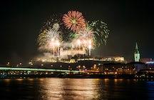 L'inizio del nuovo anno a Bratislava
