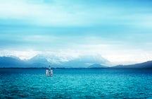Austria compensa su falta de acceso al mar