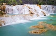 Palenque's stunning waterfalls