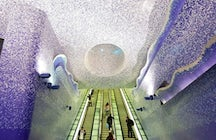 Travel through art- Toledo station of the Naples Metro