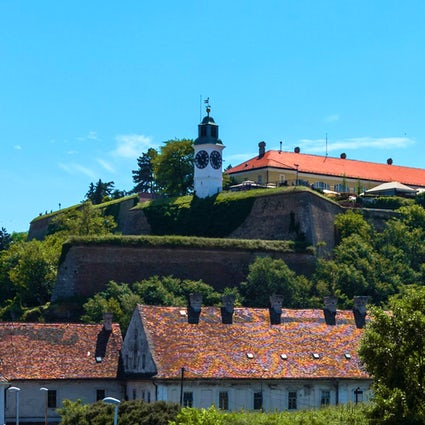 Petrovaradin Fortress, where history meets fun
