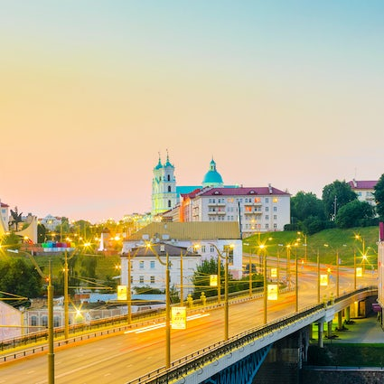 A day trip from Minsk: Grodno