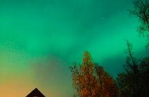 La aurora boreal en Abisko
