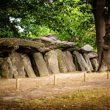Roche-aux-Fées near Rennes,  a mysterious place built by fairies
