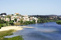 Amazing river beaches along the Tejo