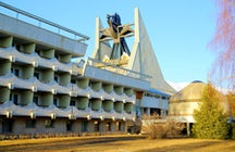 Beautiful and bizarre Soviet sanatoriums in Kyrgyzstan