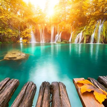 Lagos de Plitvice - jóia natural da Croácia